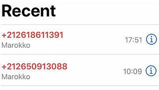 Pas op voor gemiste oproep van Marokkaans telefoonnummer (+212)