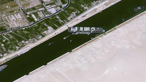 Winkelketens wellicht in problemen door blokkade Suezkanaal