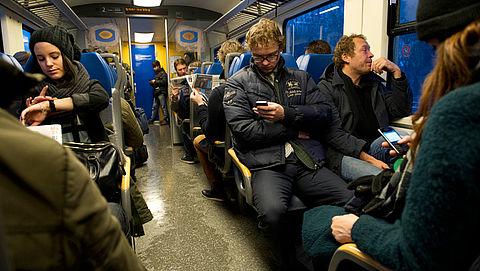 Bus als alternatief voor drukke trein}