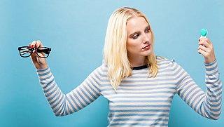Kan het dragen van lenzen schadelijk zijn voor je ogen?