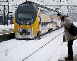 Minder vaak aangepaste treindienst in winter