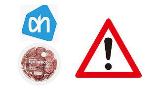 Let op: Spaanse worst van Albert Heijn mogelijk besmet met salmonella