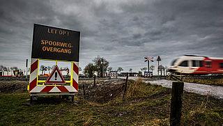 ProRail wil camerabeelden gebruiken om veiligheid spoorwegovergangen te verbeteren