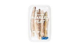 Makreelfilet uit schap Albert Heijn