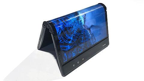 Wat gebeurt er als je een tablet dubbelvouwt?}