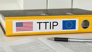 Boeren en milieuclub in actie tegen TTIP
