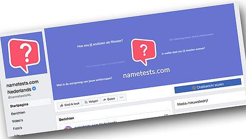 Gegevens Facebookgebruikers gelekt via quiz-app