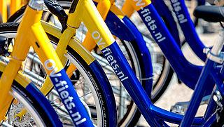 Gebruik OV-fiets opnieuw sterk toegenomen