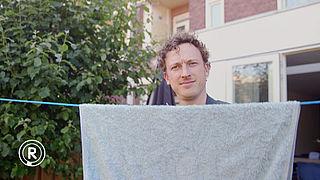 Gebruik een waslijn | Fons checkt duurzame tips