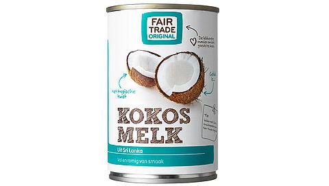 Fair Trade Original haalt kokosmelk terug}