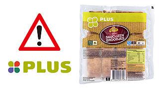 PLUS roept saucijzenbroodjes terug wegens foutieve allergeneninformatie