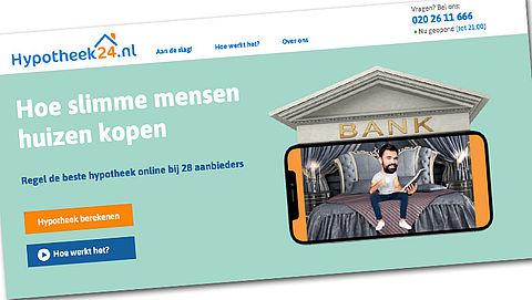 Hypotheeklastenvergelijker - reactie Hypotheek24.nl}