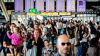 Schiphol zakt op ranglijst door capaciteitslimiet
