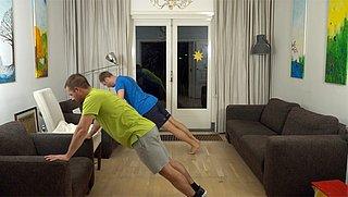 Thuis trainen met deze 7 Minute Workout (lichte variant)