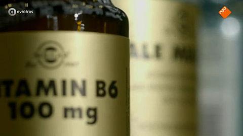 De gevaren van vitamine B6