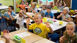 Aantal grote basisschoolklassen toegenomen