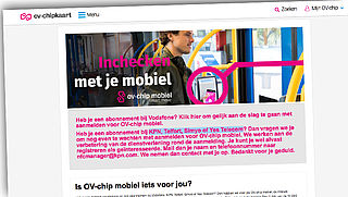 Mobiel inchecken ov stilgelegd voor abonnees KPN, Telfort, Simyo en Yes Telecom