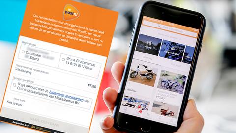 Gebruik jij Marktplaats? Pas op voor oplichtingstruc met 'PostNL'-verzendlabel