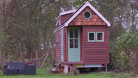Tiny houses: wonen in een piepklein huis}