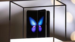 Opvouwbare smartphone Samsung komt toch niet in Nederland uit