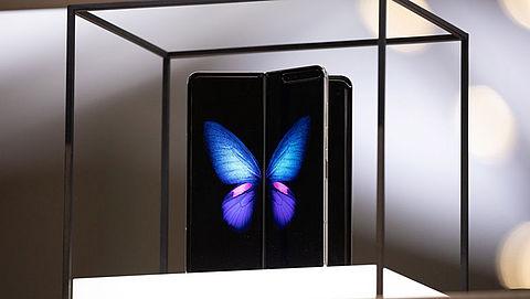 Opvouwbare smartphone Samsung komt toch niet in Nederland uit}