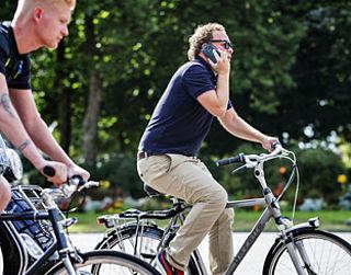Bellen op de fiets blijft toegestaan
