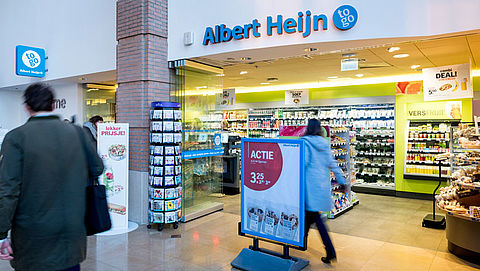 Albert Heijn start proef met kassaloos winkelen