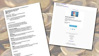 Phishingmail verstuurd uit naam van deurwaarder Flanderijn