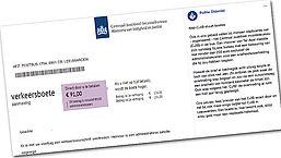 CJIB waarschuwt voor nepbekeuringen met Litouws rekeningnummer