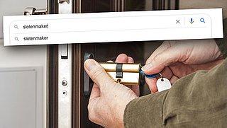 Advertenties van slotenmakers niet meer via Google te vinden