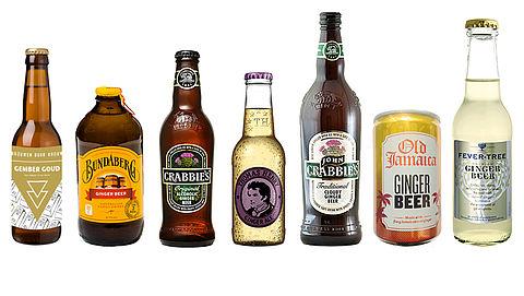 Test: Gemberbier met en zonder alcohol