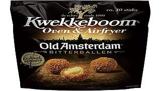 Vleesbitterballen Kwekkeboom tussen bitterballen met kaas terechtgekomen