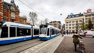 Eén ov-kaartje voor heel Amsterdam