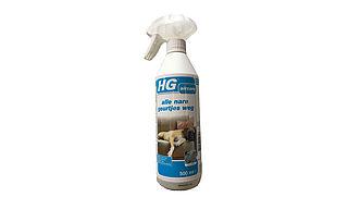 Kan je met een simpele spray de geur van hondenurine verwijderen?