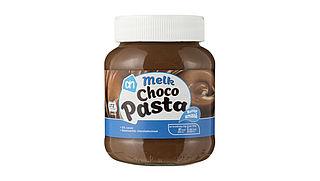 Waarschuwing voor AH Chocopasta melk vanwege hazelnoot