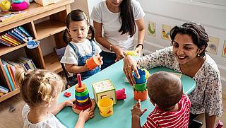 Nederlandse kinderopvang komt sterk uit onderzoek