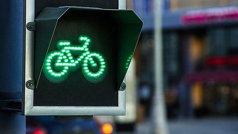 Snelle elektrische fiets wordt niet herkend door stoplicht