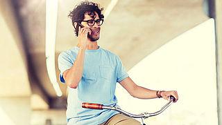 Bijna tienduizend boetes voor bellende fietsers