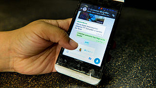 WhatsAppbericht mag naar minder mensen worden doorgestuurd