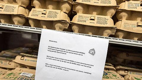 Albert Heijn haalt nog meer eiersoorten uit de schappen