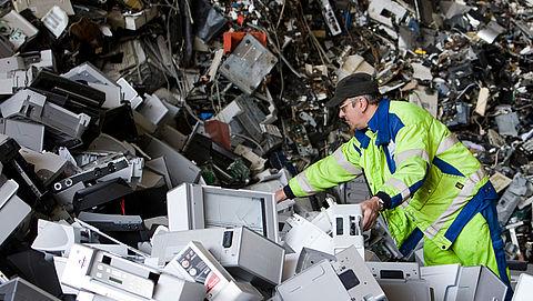 Campagne moet recyclen van elektrisch afval aanmoedigen}