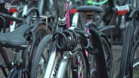 Zo zet je je fiets goed op slot