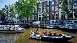 Nieuw vaarbeleid in Amsterdam om overlast te beperken