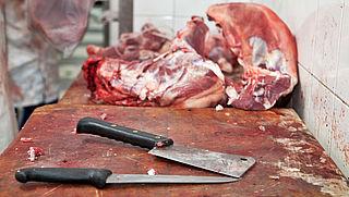Inval bij mogelijk illegale vleesverwerker