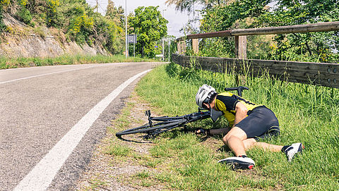 Meer hulpvragen vanwege fiets-en motorongevallen in buitenland