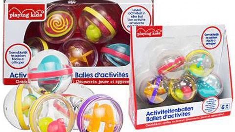 Kruidvat waarschuwt voor gevaarlijke 'Playing Kids'-ballen