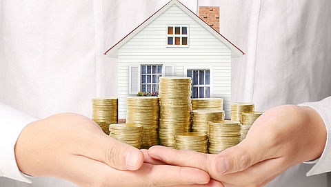 Minder hypotheekgaranties verstrekt door hogere prijzen}