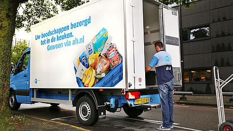 Supermarktklant slaat steeds grotere hoeveelheden in