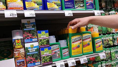 EU raadt beperkt gebruik glyfosaat aan
