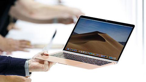 Apple dicht beveiligingslek op MacBooks}